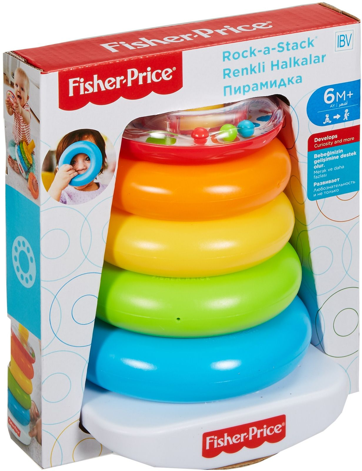 Fisher-Price Пирамидка Rock-a-Stack